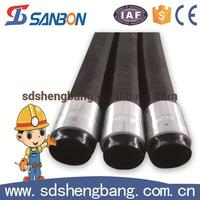 ISO9001 factory mud rubber pipe