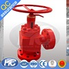 Well control operation choke valve / wellhead production chokes / manual adjustable choke valves