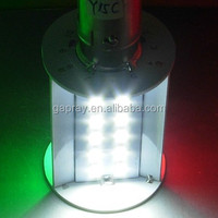 10-30VDC Three Colour BAY15D LED marine navigation light for boat