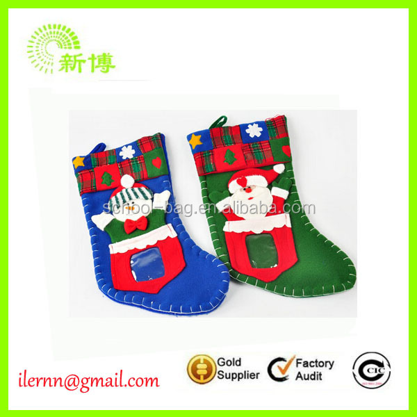 Crazy novelty Baby Christmas sock