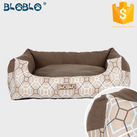 Home textile high quality luxury pattern pet dog beds