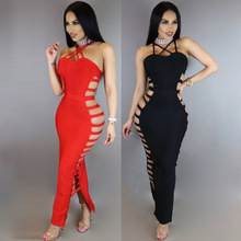 K2341A Latest Club Women Clothing 2017 Sexy Bandage Bodycon Club Sexy Dress Women