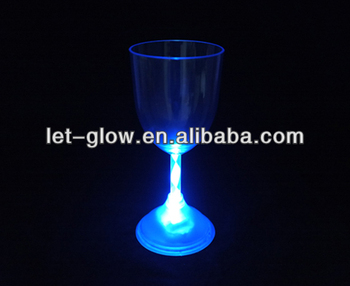 Glow Glass Supplier, Lighted Wine Glass exporter, Rainbow color LED Glass manufacturer
