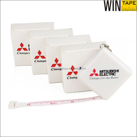 150cm White Color Square Key-chain Meter Goods with Box Packaging