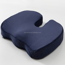 Mesh Cushion Cover Memory Foam Car Seat Back Support Cushion
