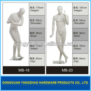 high quality running sports male mannequin