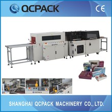 Hot wind recycle sealing & shrink packing machine