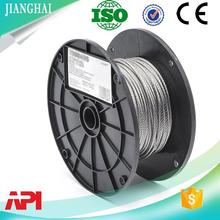 1x7 1x19 7x7 7x19 PVC PE PP Nylon coated steel wire rope