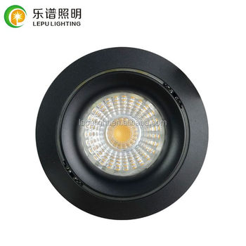 warm dim recessed led mini downlight with 75mm cutout 32mm height 0-100% dimmable ip44