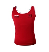 The most hot end of the beautiful high quality 100% cotton women's sports vest