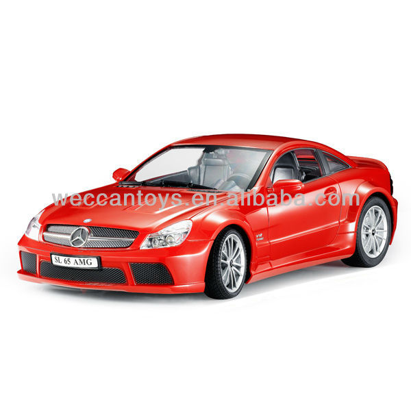 Licensed Mercedes-Benz 1:14 Silver White Black Red colors are available Bluetooth rc car