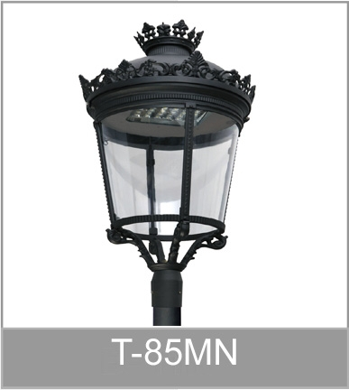 Outdoor garden lighting pole light
