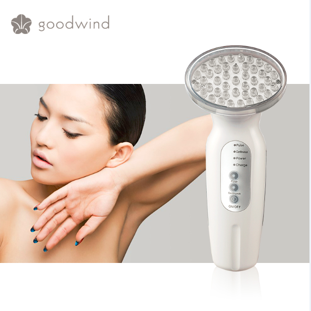Goodwind OEM photon light therapy machine, low price face cleaning electric facial brush