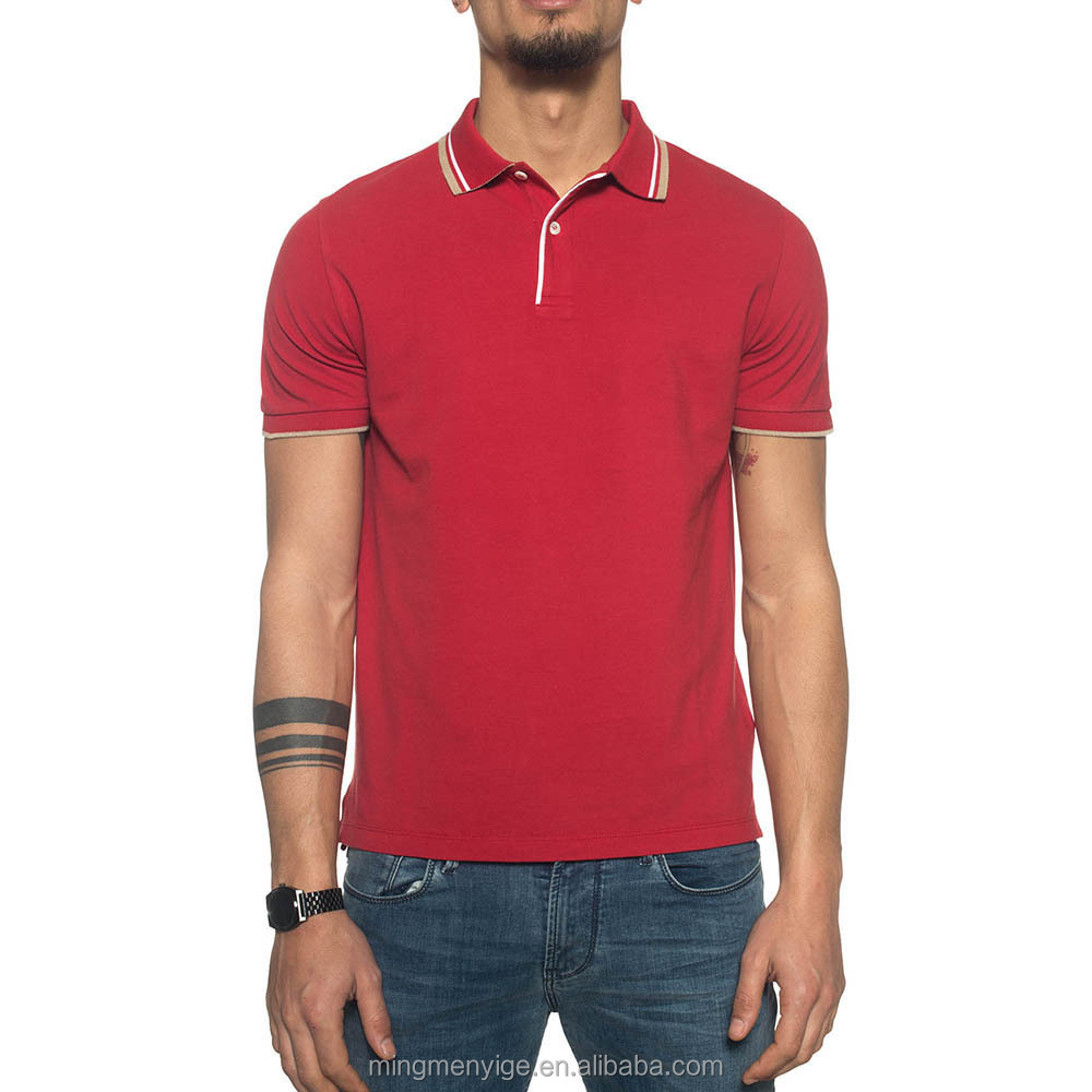 OEM/ODM Workable Mens Dry Fit Polo Shirts with Customized Logo