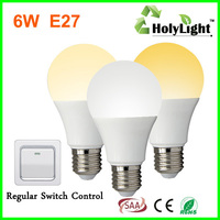 2015 New Arrival Color Temperature Changing 6w smart led bulb