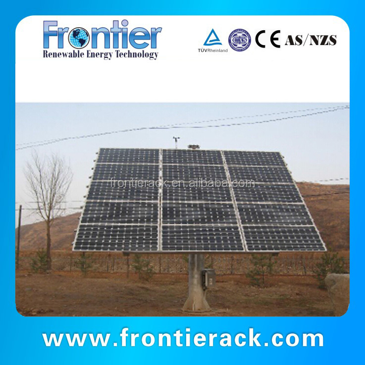 best solar tracker price Dual Axis gps solar tracking system