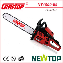 Easy Starter Chain Saw low consumption 45cc Chainsaw NT4500ES
