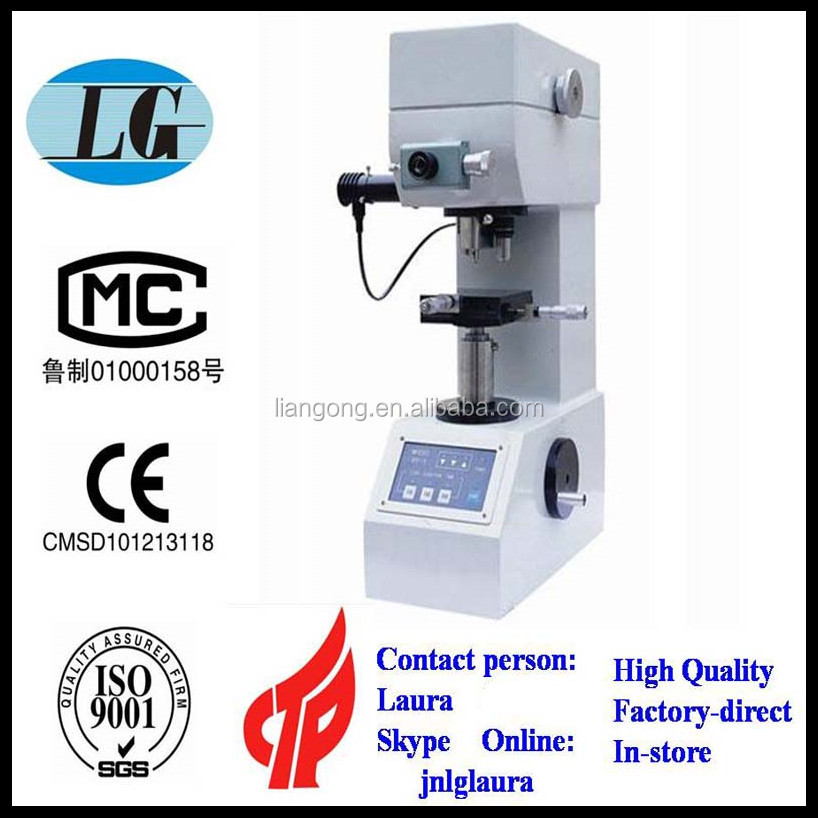 electronic power micro vickers hardness tester