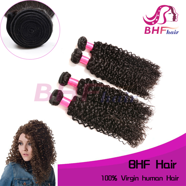 wholesale very soft tangle free unprocessed virgin raw indian curly hair