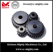 hobbing processing cnc machining plastic/steel/ nylon spur gear for various machines