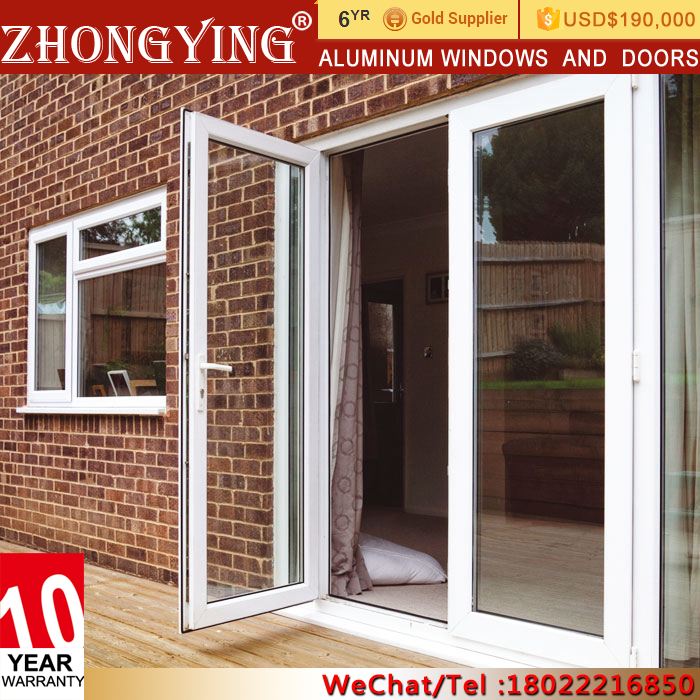 Pooja Mexican German Beveled Smoked Soundproof Glass Doors