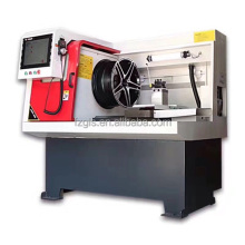 metal wheel drilling cnc lathe machine specification