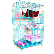 china Latest design large animal foldable pet cages for cat