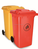 Outdoor plastic recycle 240Liter Trash Can eko trash cans