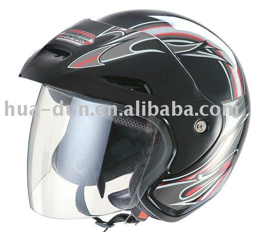 open face helmet DOUBLE VISOR helmet quality very good with ECE/DOT helmet