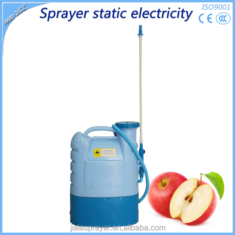 High Quality Liquid Adherence Electrostatic electric pesticide agriculture battery sprayer pump