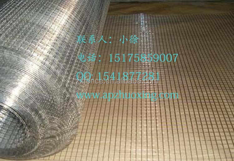 Hebei anping cheap galvanized welded wire mesh
