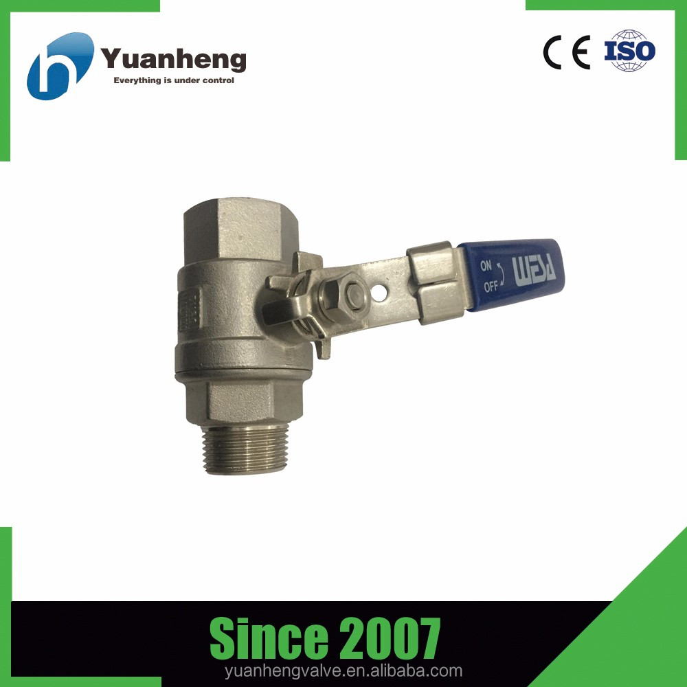 CE certified CF8 stainless steel ball valve dn50