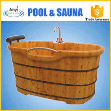 inflatable portable adult spa wooden tub with price