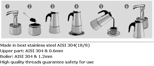 stainless steel coffee pot machine china alibaba