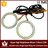 Lightpoint hot selling Auto white yellow Led Angel Eyes Halo Rings Headlight cob lens for universal cars