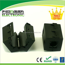 9.5mm toroidal ferrite core choke coil RF filter, Use for Cable EMI shielding, Filter Beads