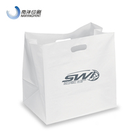 Promotional Bottle Tote Bag Plastic Bag With Logos