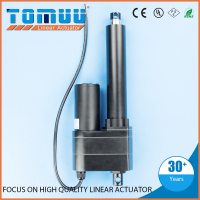 Dongguan TOMUU best seller 12v 24v electric ball screw linear actuator with dc motor