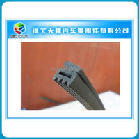 customized rubber foam seal strip for car doors and windows/extrusion sliding window strips