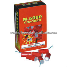 M5000 SILVER CRACKER HOT SALE/DIRECT FIREWORKS FACTORY