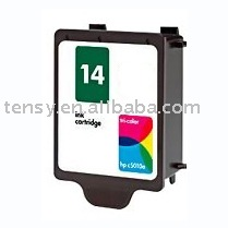 remanufactured ink cartridge for HP14 (C5010) print ink cartridge