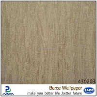 Nature wood design 3D effect wallpaper/wall panel for ceiling