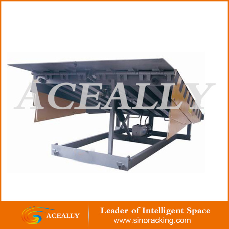 ACEALLY mechanical mobile truck ramp material truck ramp dock leveler yard ramp