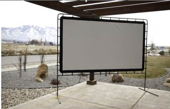 "120"" 144"" inch camping outdoor movie screen /fast fold projection/projector outdoor screen"