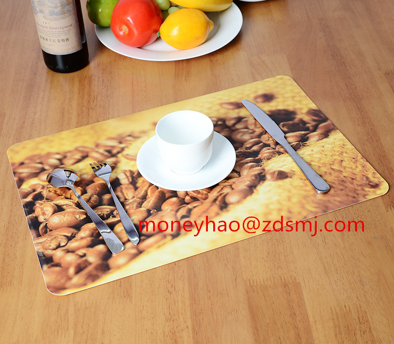 factory produce uv printing plastic placemat