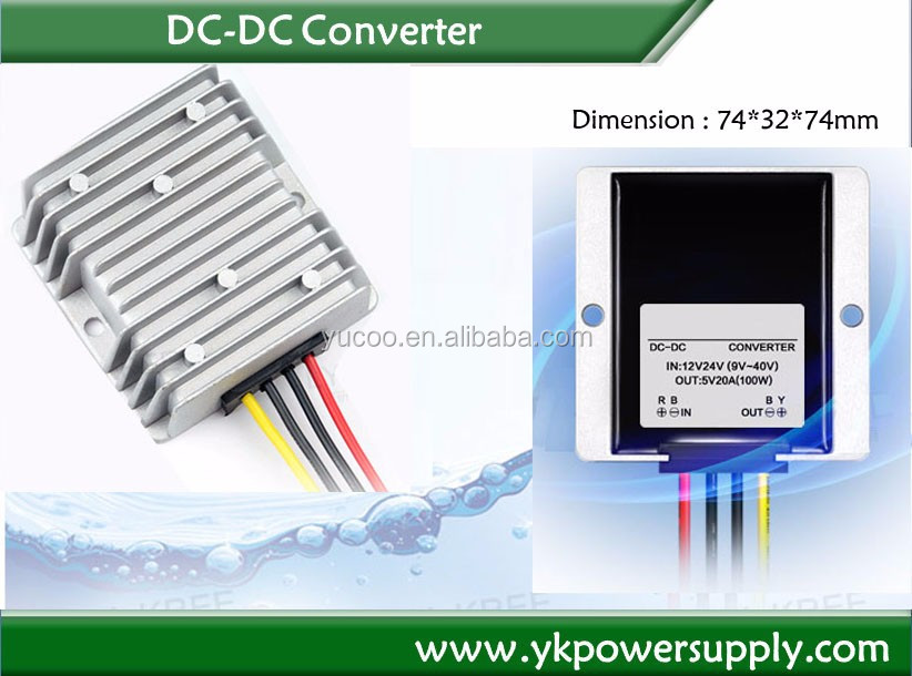 Output 30A dc step down 24v 12v converter