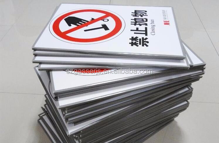 Custom Paper board PVC board no smoking sign