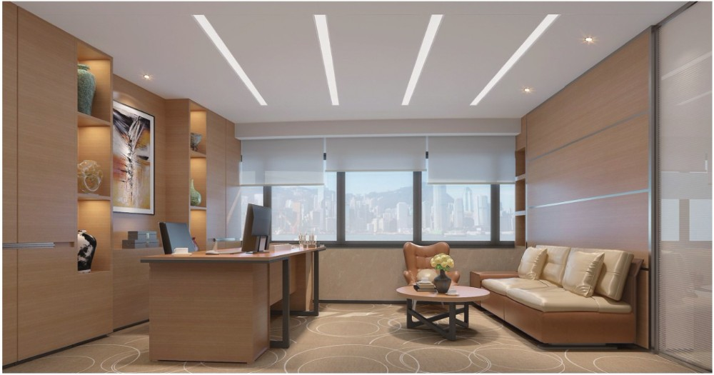 Office Supermarket led ceiling light linear light