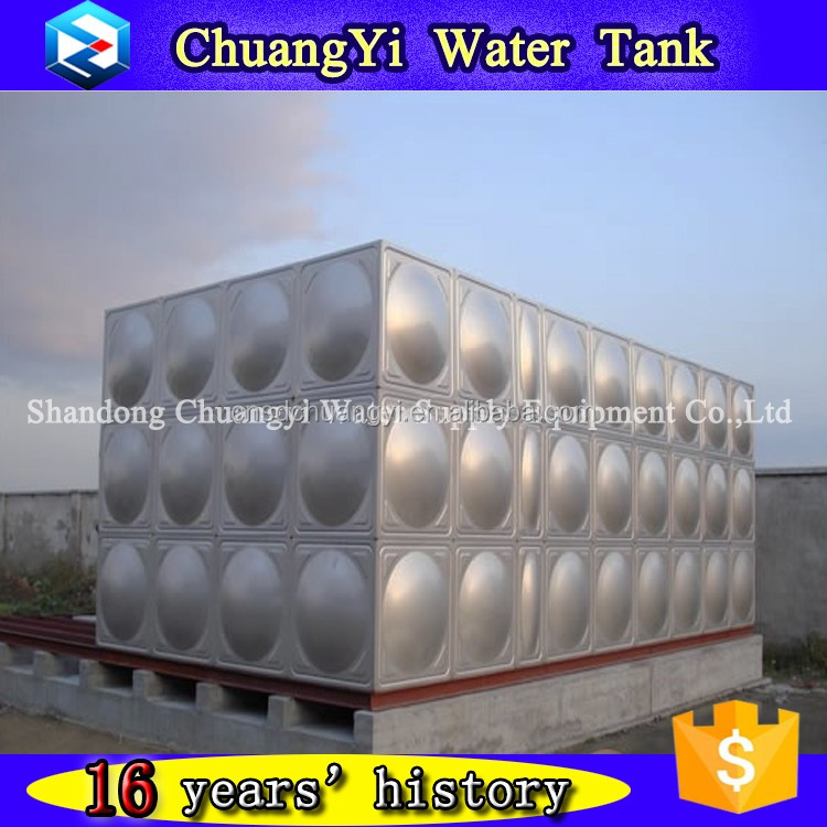 2017 New design hot sale 5000 Gallon assemble stainless steel water tank