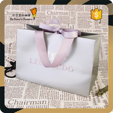 Wedding Gift Recycle Fashion Luxury Paper Shopping Bag